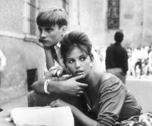 60s, claudia cardinale, and grunge image