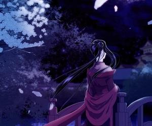 beautiful, night sky, and scenery image