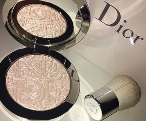 makeup, dior, and luxury image