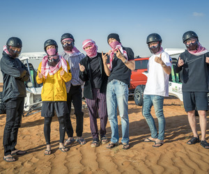 boys, korean, and Dubai image
