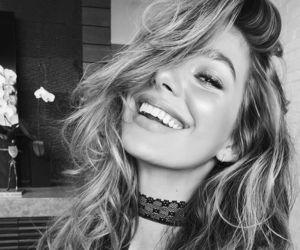 smile, model, and camila morrone image