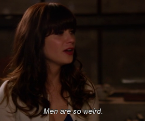 quotes, zooey deschanel, and new girl image