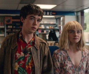 netflix, alex lawther, and jessica barden image