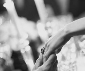 balck, bride, and hand image