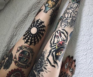 aesthetic, alternative, and tattoo image