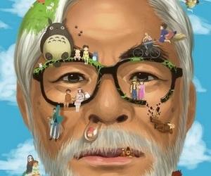 Hayao Miyazaki, studio ghibli, and anime image