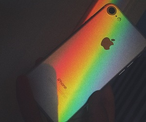 case and rainbow image
