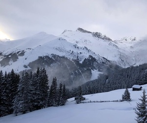 mountains, winter, and ❄ image