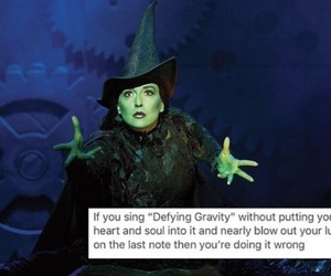 broadway, tumblr, and wicked image