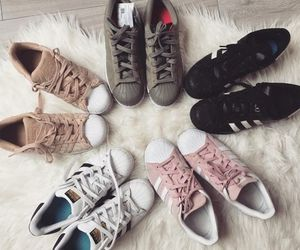 addidas, fluffy, and Nude image
