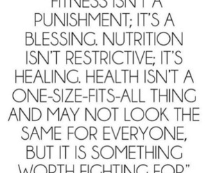 fitness, healthy, and quotes image