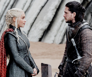 couple, game of thrones, and emilia clarke image