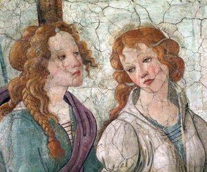 art, beauty, and sandro botticelli image