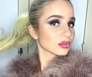 blonde, dior, and eyebrows image