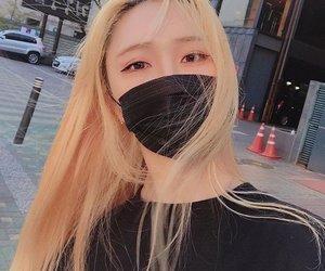 asian, korean, and long hair image