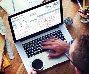 payment gateway, mobile payment, and online invoicing image