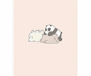 anime, bro, and bear image