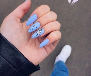 blue, claws, and girly image