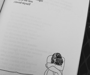 black and white, book, and poetry image
