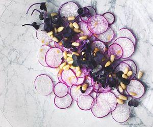 food, lemon, and purple image