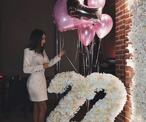 22, balloons, and birthday image