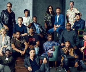 black panther, cast, and cate blanchett image