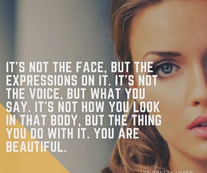 beauty, words, and empowerment image