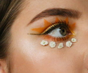 makeup, eye, and fashion image