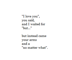 love, quotes, and but image