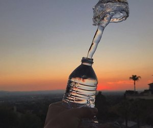 bottle and water image