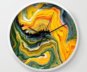 abstract art, clocks, and fashion image