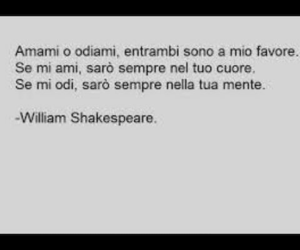 amore, frasi, and shakespeare image