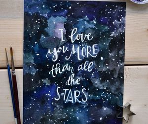 etsy, galaxy, and love quote image