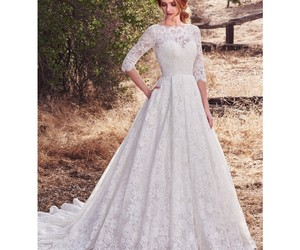 chapel, dress, and sottero image