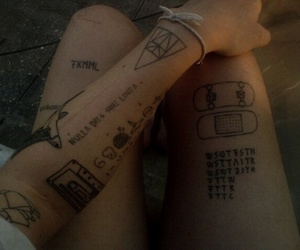 tattoo, grunge, and tumblr image