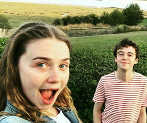 alex lawther, jessica barden, and Alyssa image