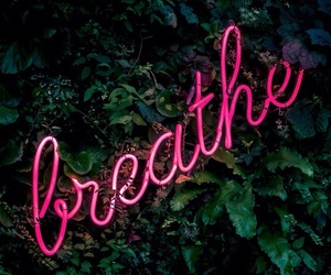 wallpaper, breathe, and pink image