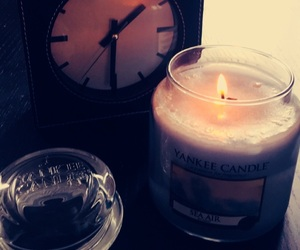 bougie, candle, and cocooning image