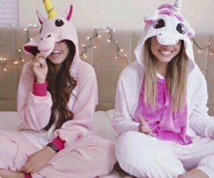 unicorn, friends, and best friends image