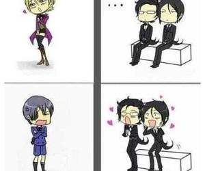 anime, kuroshitsuji, and black butler image