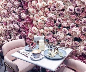 beautiful, lunch, and coffee image