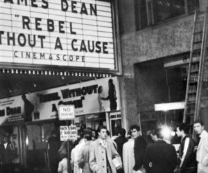 cinema, james dean, and rebel without a cause image