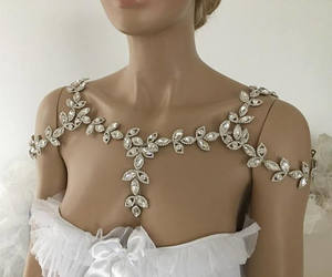 etsy, wedding shoulder, and wedding dresses image