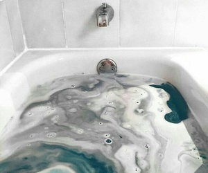 bath, aesthetic, and tumblr image