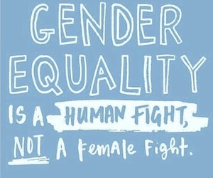 girl, equality, and feminism image