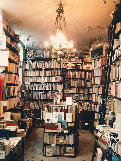 books, old, and bookshop image