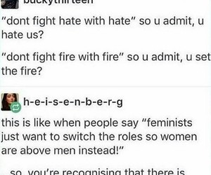 equality, feminism, and human image