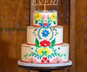 beautiful, cake, and embroidery image