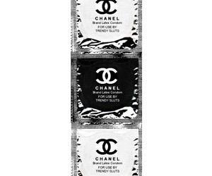 chanel, condom, and condon image