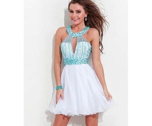 homecoming, tulle, and neckline image